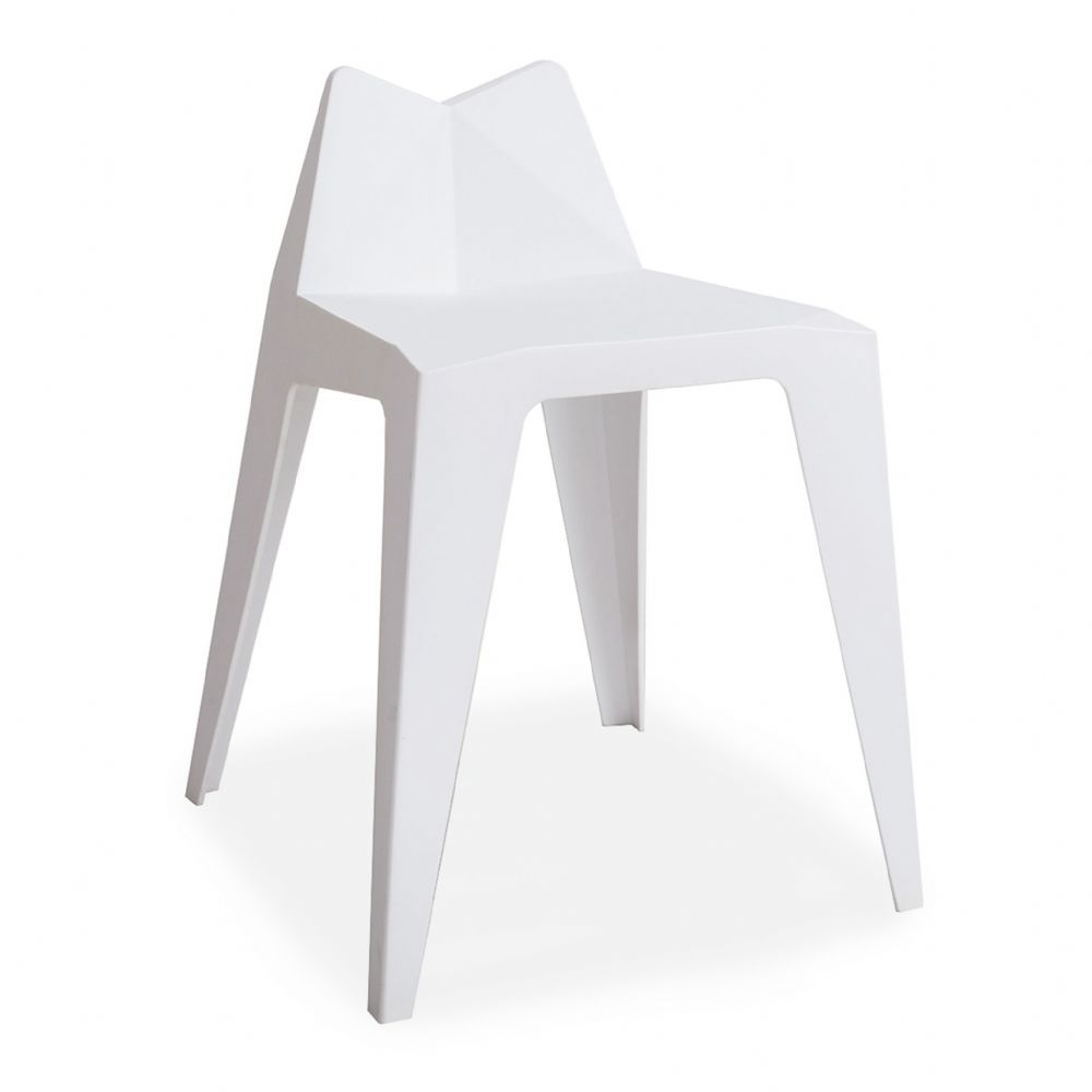 x4 White Mmilo Kitty Barstools